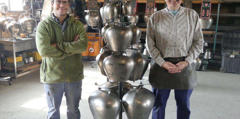 La Forge du Camp à Bière, Anthony et Pierre-André Tschantz