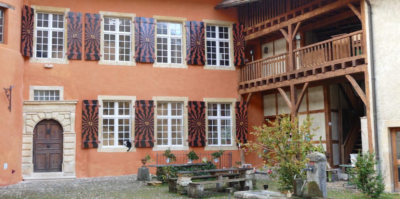 Communiqué de presse : La Fondation de Romainmôtier acquiert la Maison du Prieur