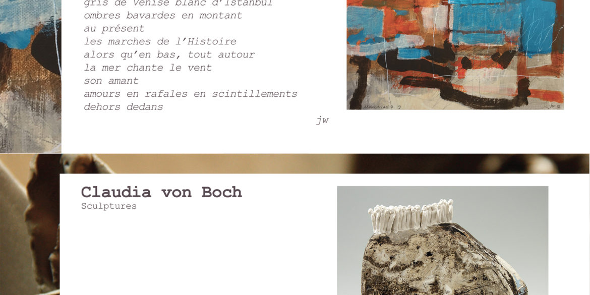 Exposition Claudia von Boch et Jacques Walther