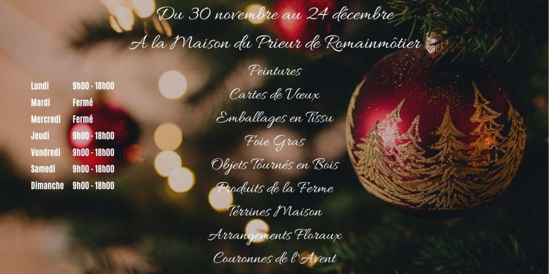 Marché de Noël Artisanal à la Maison du Prieur, Romainmôtier